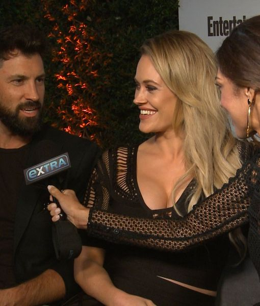 Parents-To-Be Maks & Peta Will Make Baby Their 'Little, Tiny Ring Bearer' at…