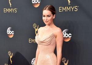 Emilia Clarke Jokes Chain-Mail Emmys Dress Would Never Work on 'GoT': 'My Boobs…