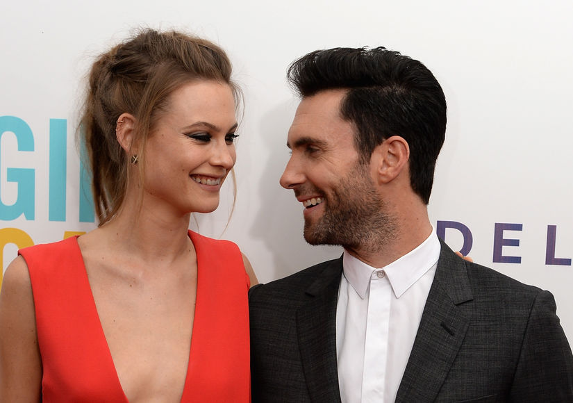 First Pic of Adam Levine & Behati Prinsloo's Adorable Dusty Rose!