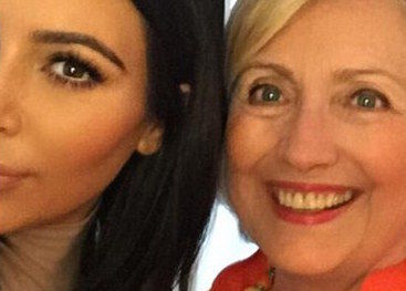 Swing Voter Kim Kardashian Swings Back to Hillary Clinton