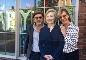 The Cast of 'The West Wing' Reunites to Campaign for Hillary Clinton!