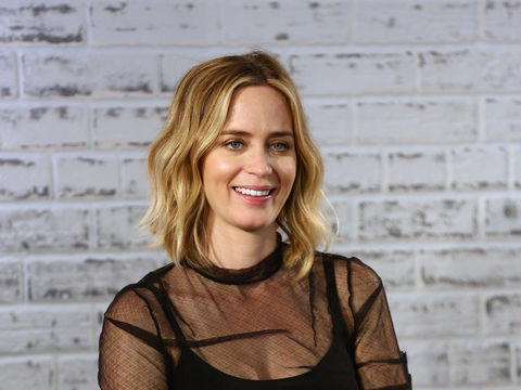Emily Blunt on Baby Daughter Violet and Those Pop Star Rumors ...  Emily Blunt