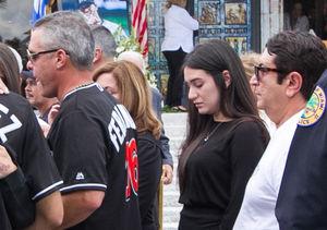 José Fernández's Pregnant GF Attends His Funeral