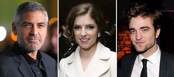 george clooney anna kendrick robert pattinson