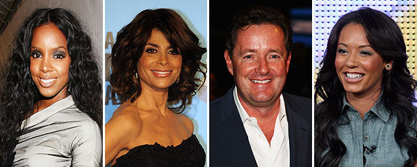 simon cowell piers morgan mel b kelly rowland