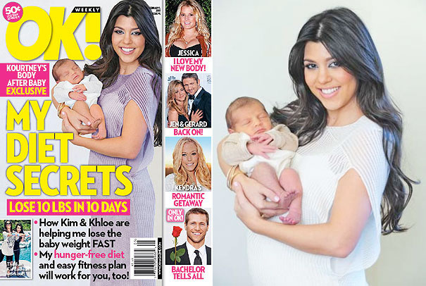 Kourtney Kardashian ok magazine