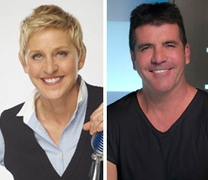 Simon Cowell and Ellen DeGeneres won't sit next to each other on American Idol
