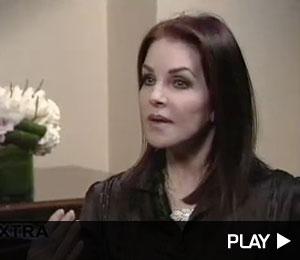 Priscilla Presley talks about her grandkids.