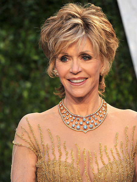 Actress Jane Fonda is in talks to portray First Lady Nancy Reagan in ...