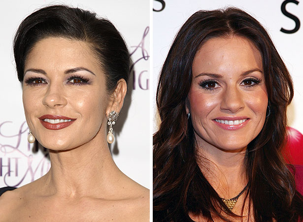 Catherine Zeta-Jones and Kara DioGuardi