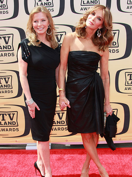 Cheryl Ladd and Jaclyn Smith