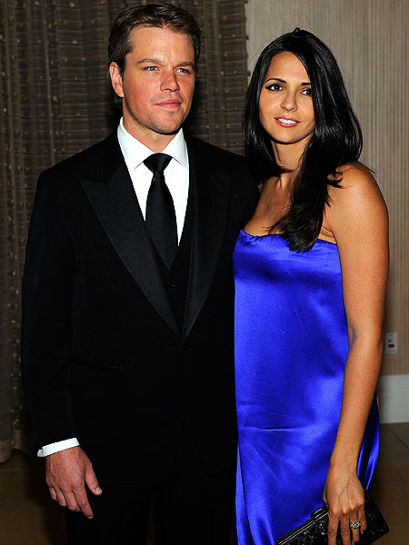 Matt Damon and Wife Ex...