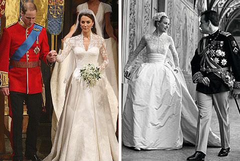 Kate Middletons Wedding Dress By Sarah Burton Of Alexander McQueen