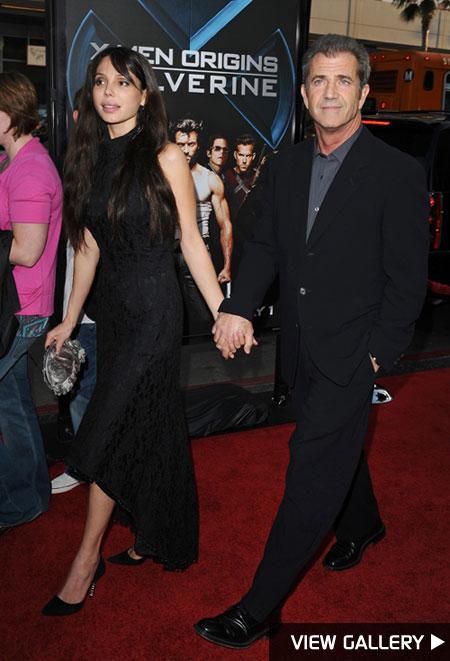 Mel Gibson and girlfriend Oksana Grigorieva