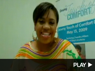 Chandra  Wilson video-chats