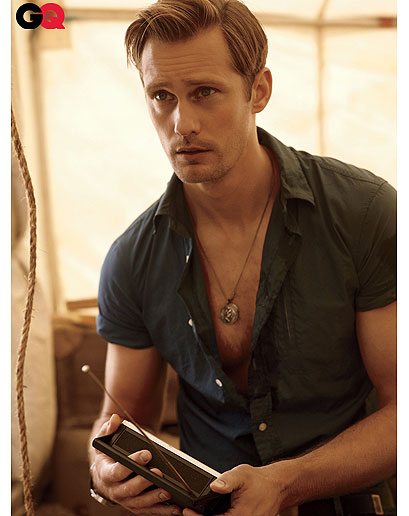 Alexander Skarsgard In GQ: Whales, 'True Blood' And 'The