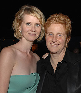 cynthia nixon is engaged