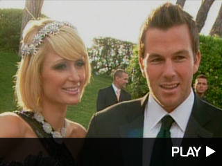 Paris Hilton and Doug Reinhardt in Cannes