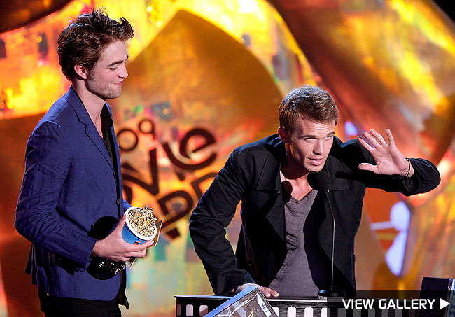 winners gallery of the 2009 mtv movie awards