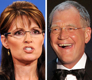 Sarah Palin and David Letterman feud