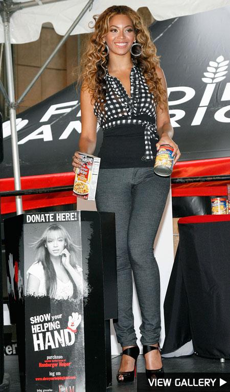Beyonce partners with Hamburger Helper