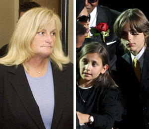 debbie rowe gives up custody for money