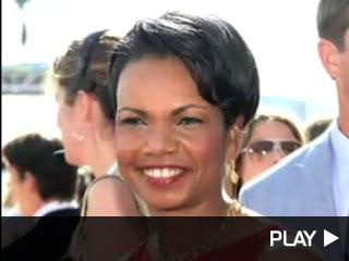 Condoleeza Rice at the ESPYs