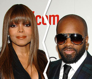 Janet Jackson and Jermaine Dupri split