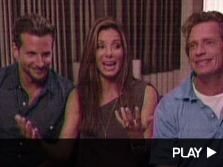 Bradley Cooper, Sandra Bullock and Thomas Hayden Church go head to head!