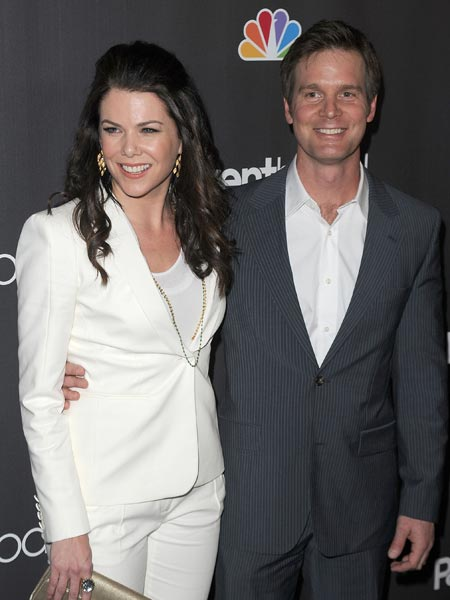 Lauren Graham couple