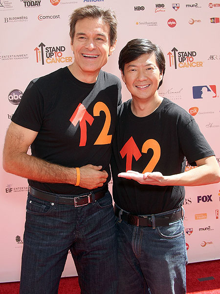 dr. mehmet oz and ken jeong
