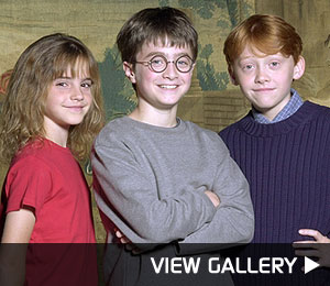 harry potter stars through the years