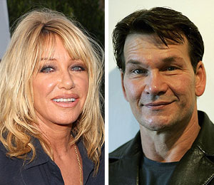 suzanne somers sorry patrick swayze