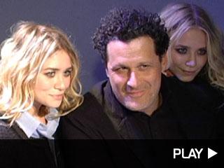 Ashley and Mary-Kate Olsen Celebrate Isaac Mizrahi Live!