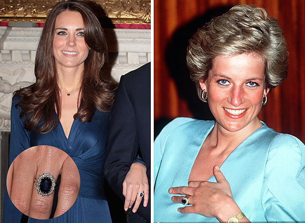 Prince William Gives Kate Diana S Ring Extratv Com
