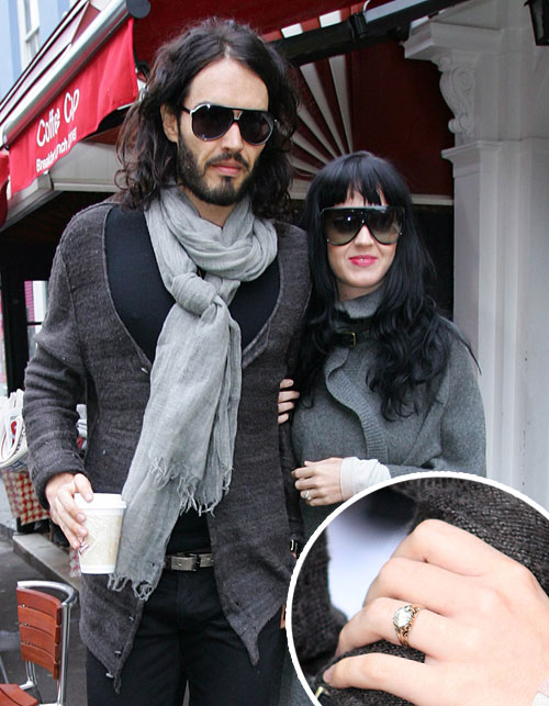 Russell Brand and Katy Perry